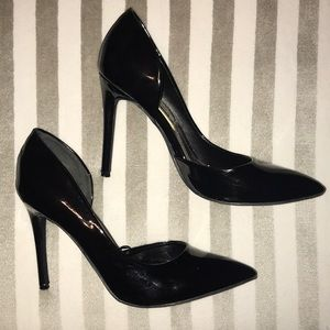 Steve Madden Patent Leather Pointed Toe Heels